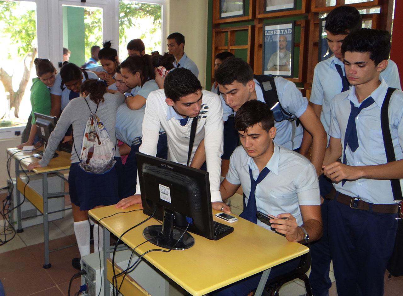 Aspirantes a la carrera de Ingeniería en Ciencias Informáticas de la Universidad de las Ciencias Informáticas UCI