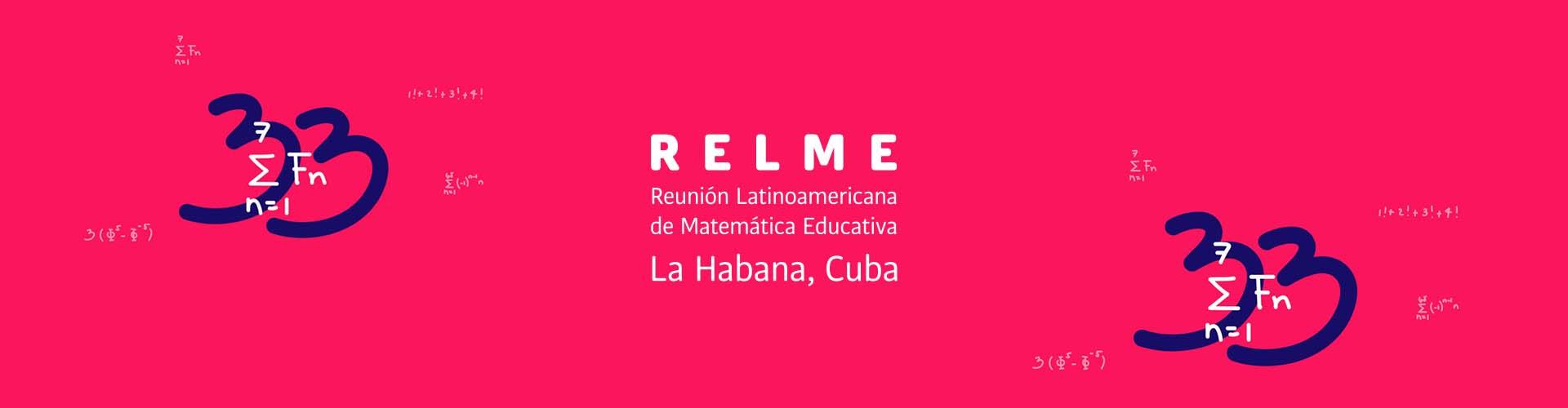 Reunión Latinoamericana de Matemática Educativa