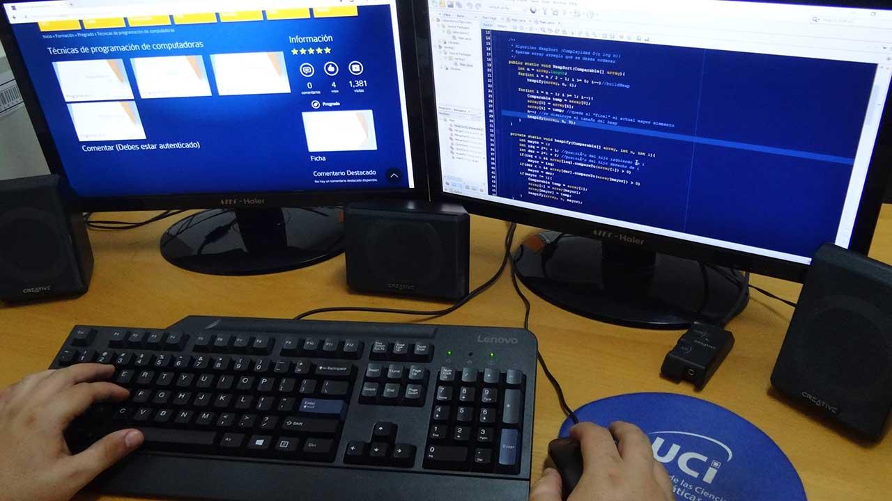 Educación a distancia en la Universidad de las Ciencias Informáticas UCI