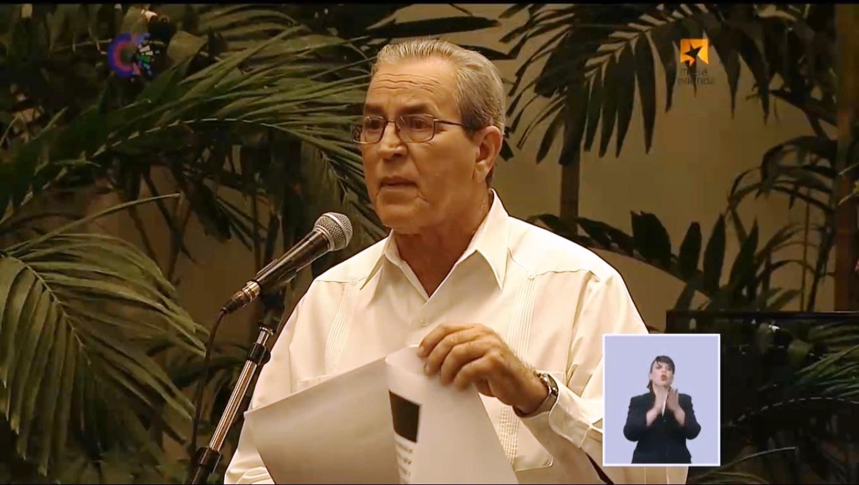 Dr.C. José Ramón Saborido Loidi, ministro de Educación Superior