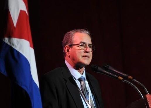 El Dr.C José Ramón Saborido Loidi, ministro de Educación Superior en Cuba, dio la apertura al 11no. Congreso Universidad 2018