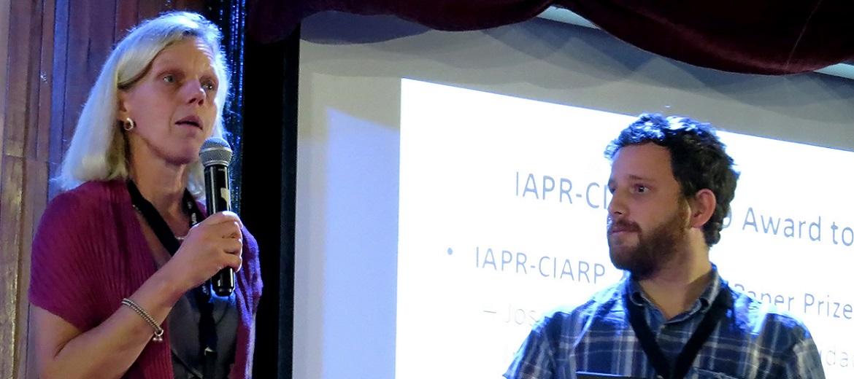 El Dr.C. Juan Camilo Vásquez-Correa de la Universidad de Antioquia de Colombia obtuvo el galardón Mejor Trabajo de la IAPR-CIARP 2019.