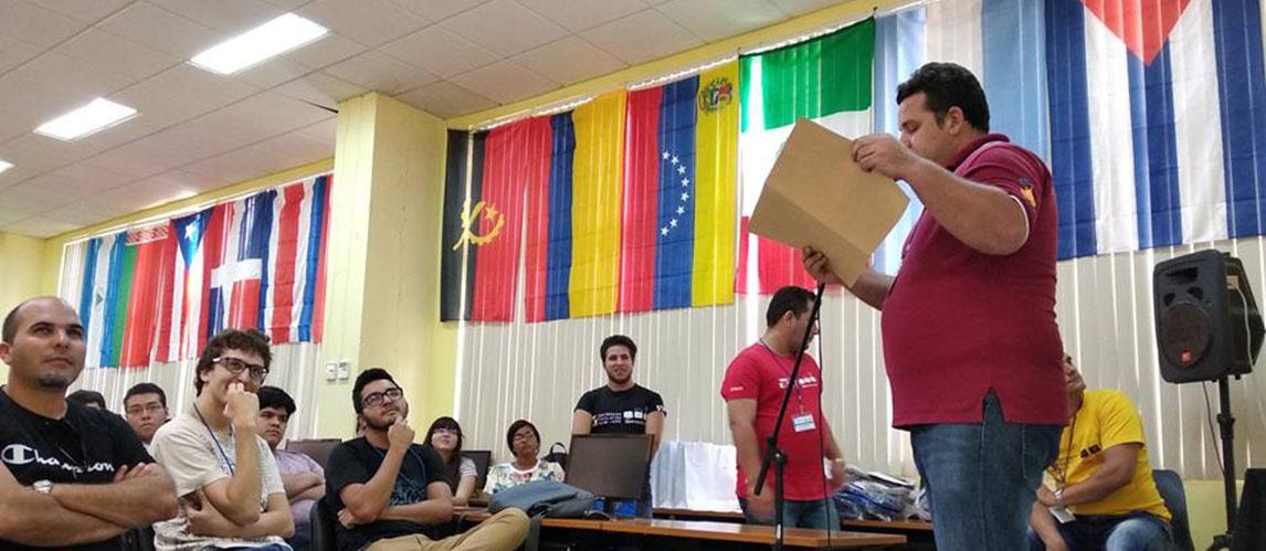 Dovier A. Ripoll reconoció a las áreas o direcciones que apoyaron en la organización y realización del Campamento