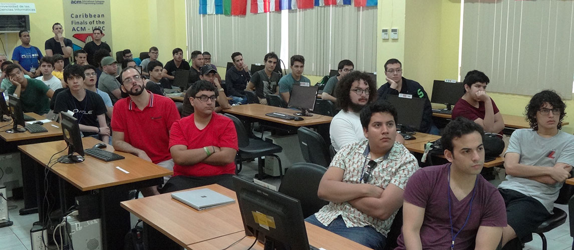 For a period of two weeks, the Caribbean university students will be testing their intuition capacity and full potential in the XI ACM-ICPC Training Camp at UCI