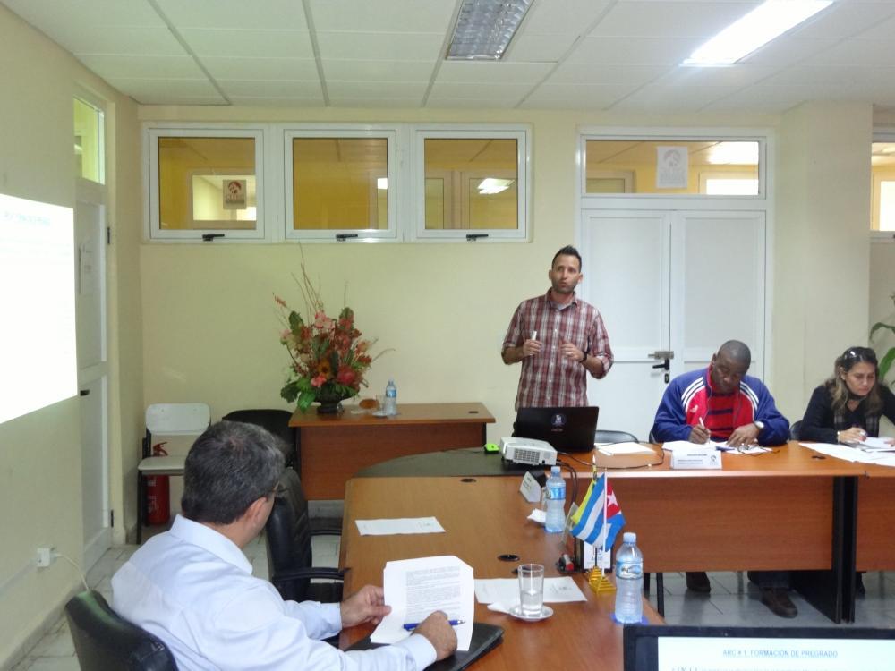 El Consejo de Dirección de la Citec presentó el cumplimiento de los objetivos del año 2019. Foto: Juan Félix Hernández Rodríguez