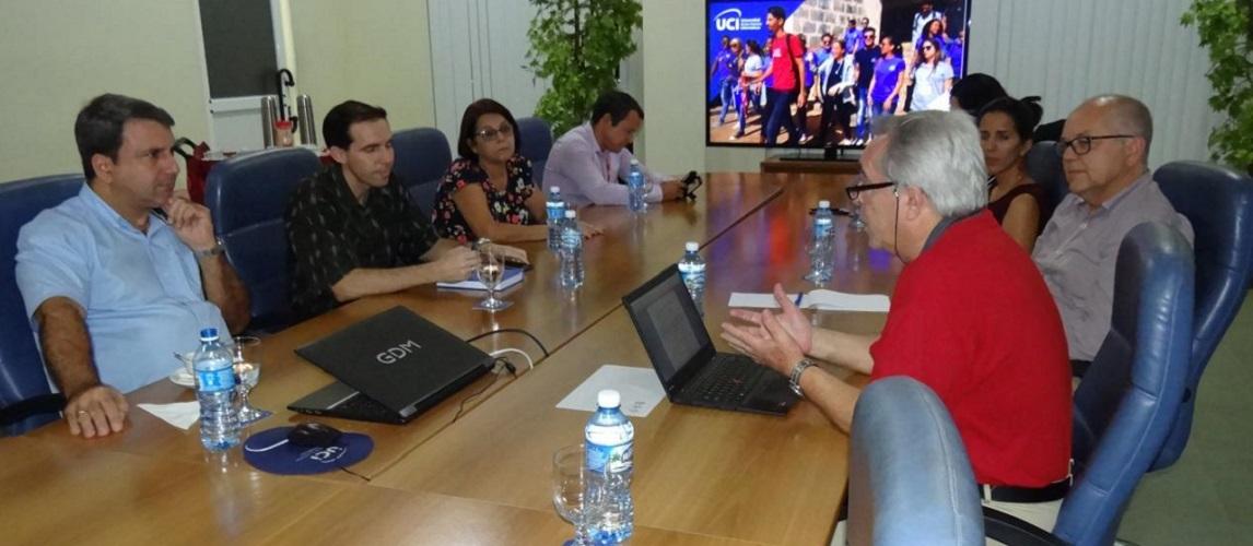 Los expertos de la AUIP presentaron en la jornada de este jueves el informe preliminar de la evaluación al Doctorado en Informática.