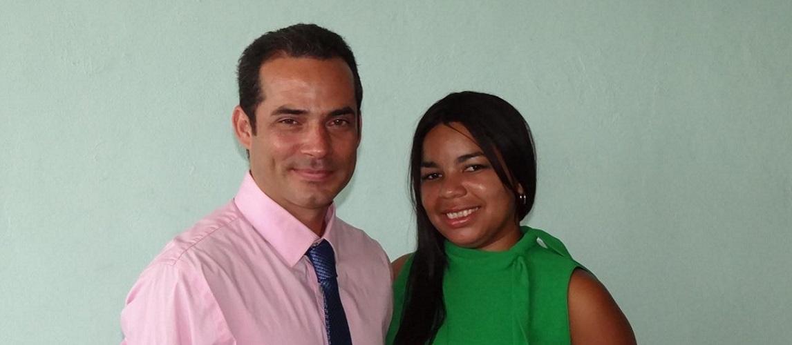 Los ingenieros Disnayle Jorge Chacón y Gusbey Pérez Carrazana defendieron con éxito sus tesis de Maestría en Matemáticas
