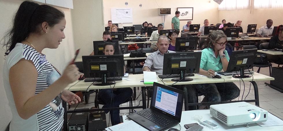 Satisfechos jueces cubanos con solución de software dada por la UCI