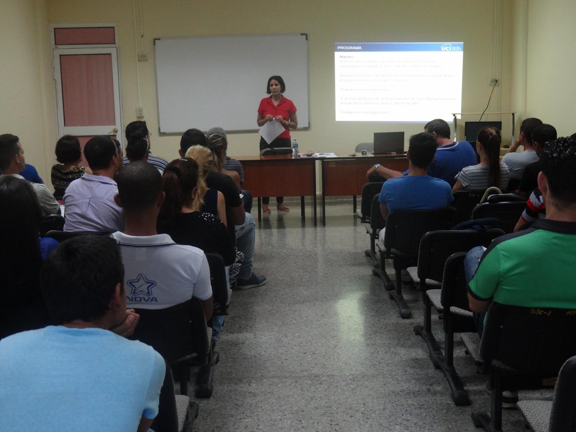 La maestría que inició su etapa lectiva en enero de 2014, ha graduado a 31 profesionales de varias regiones del país