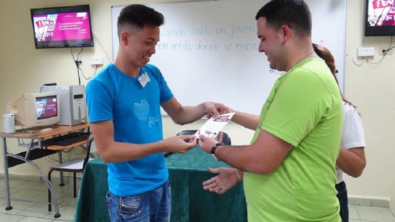 Leonardo: cantera de la masa estudiantil de la brigada 1201, de la Facultad 1, de la UCI