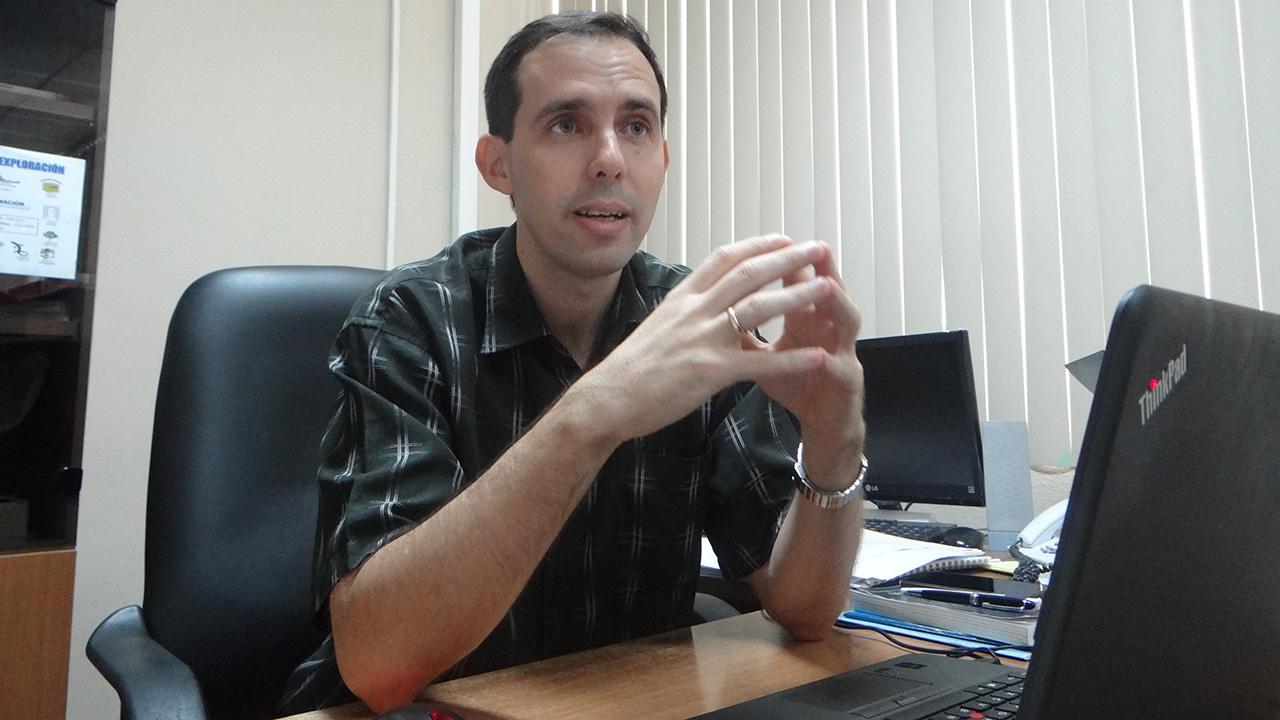 Dr. C. Raydel Montesino Perurena en la Universidad de las Ciencias Informáticas UCI