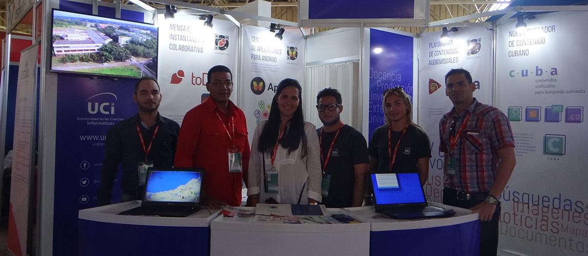 Presente la UCI en la XXXVI Feria Internacional de La Habana FIHAV 2018