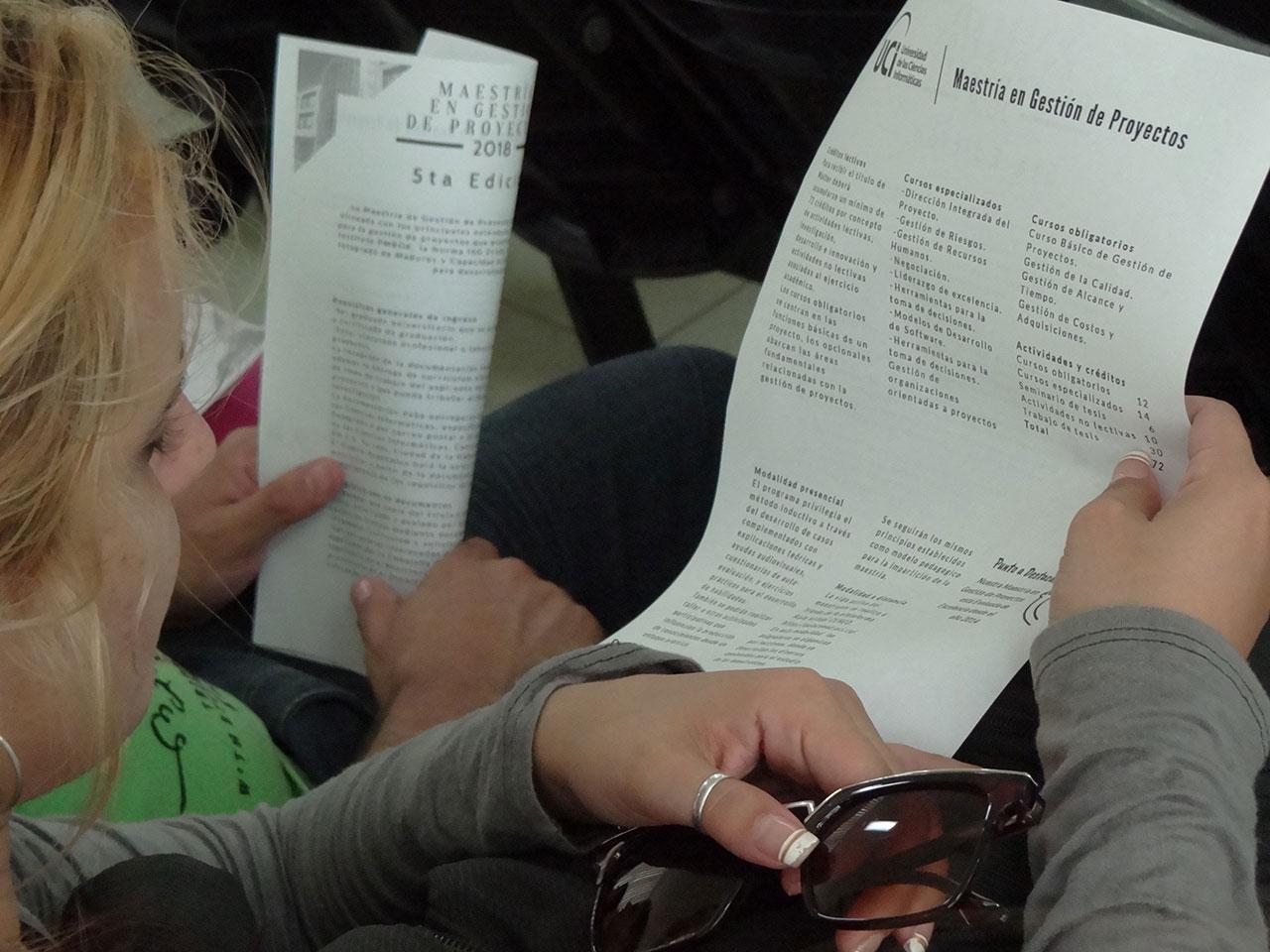 En la V Edición de la Maestría en Gestión de Proyectos se realizó la apertura del primer programa de posgrado en el país de Educación a Distancia, protagonizado por la Universidad de las Ciencias Informáticas