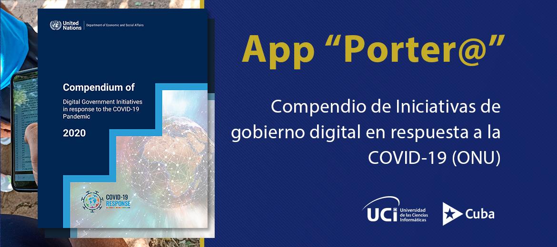 Porter@ incluida en compendio de iniciativas digitales de la ONU