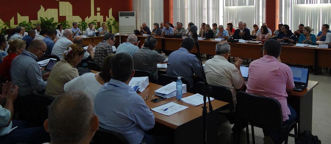 El I Taller Nacional de Informatización de los órganos, organismos de la administración central del Estado y entidades nacionales tiene lugar en la Universidad de las Ciencias Informáticas (UCI) los días 20 y 21 de junio.