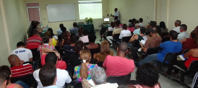 El ejercicio de aprobación territorial del Plan de Estudios E de la carrera de Ingeniería en Ciencias Informáticas, se desarrolló este este lunes 27 de agosto en los salones del Rectorado