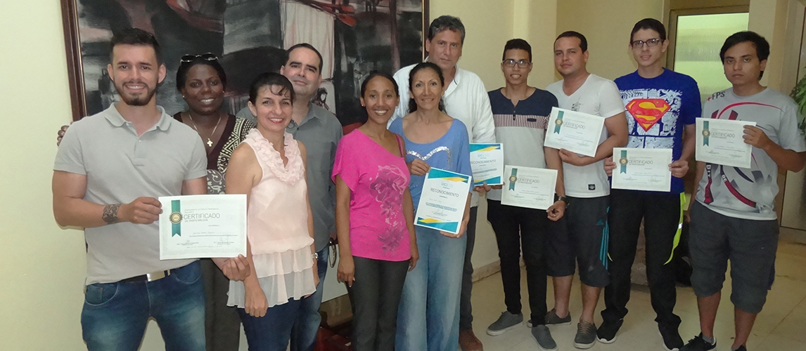 Recognition of graduates of the Network Security course
