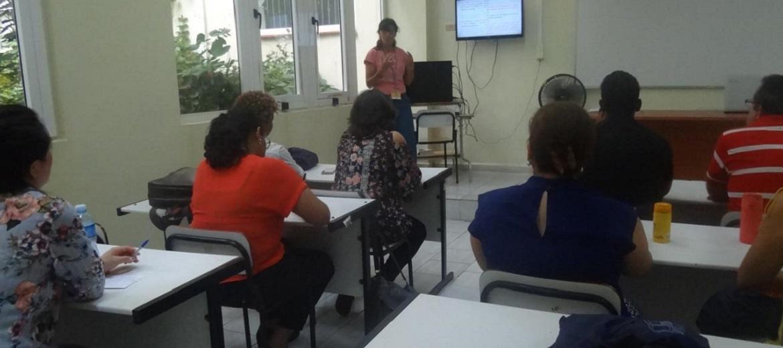 Realizan en el docente Camilo Cienfuegos la segunda sesión de los taller pedagógicos en la Relme 33