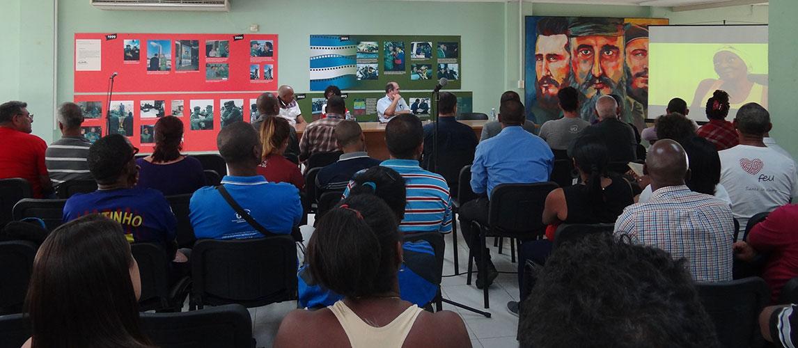 Este espacio constituyó una jornada alegórica a la figura del promotor e inspirador del deporte cubano