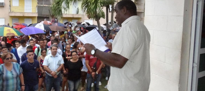 Los trabajadores de la Universidad, denunciaron el cese de las amenazas de Estados Unidos contra el Venezuela.