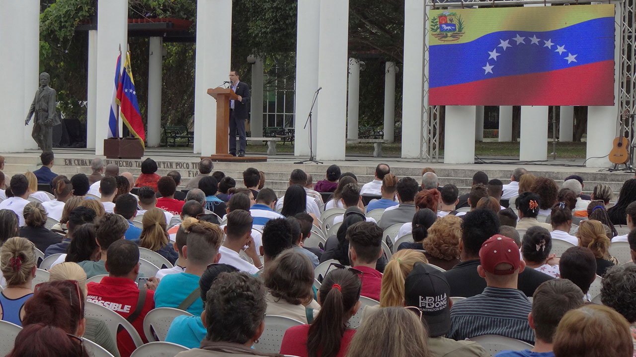 National Act of Solidarity with Venezuela