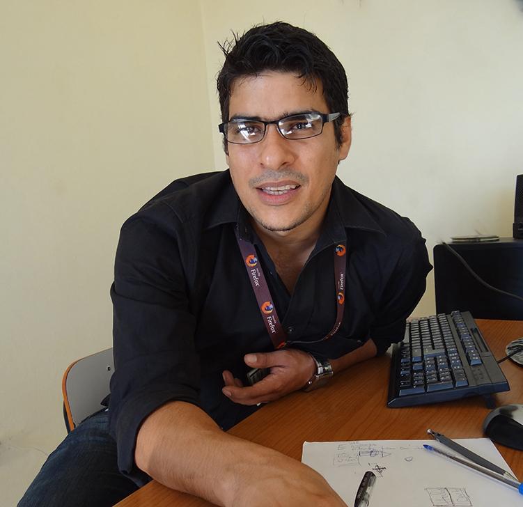Liesner Acevedo Martínez, director del Centro de Estudios de Matemática Computacional en la UCI.