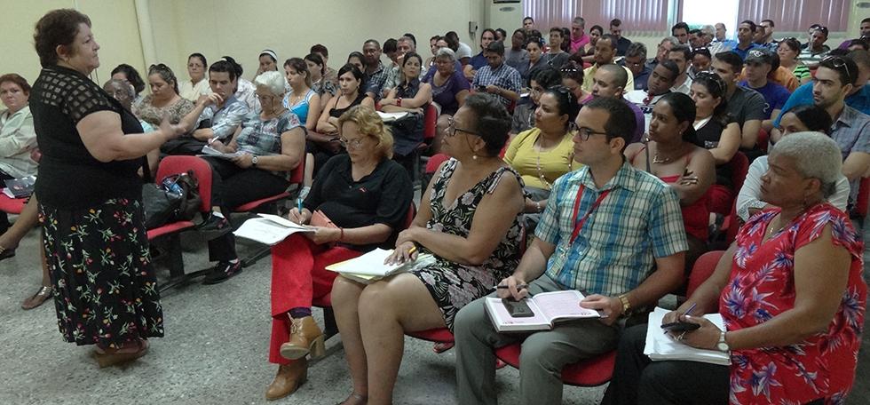Comienzan talleres de calidad para la evaluación institucional
