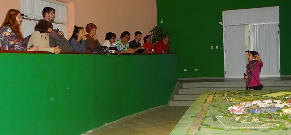 Estudiantes alemanes interesados en las tecnologías y ciencias sociales visitan la UCI