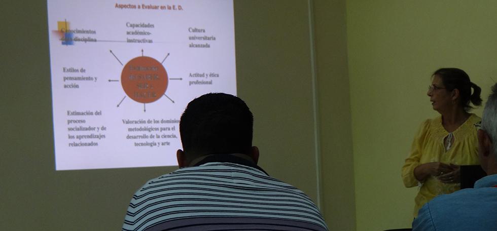 La evaluación en la educación a distancia, desde el CENED