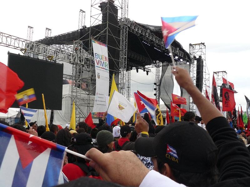 En todos los lugares que visitamos no dejamos de ver nunca esta frase: Buen Vivir, la cual según conversábamos con los residentes era incluyente en todos los procesos sociales de Ecuador.