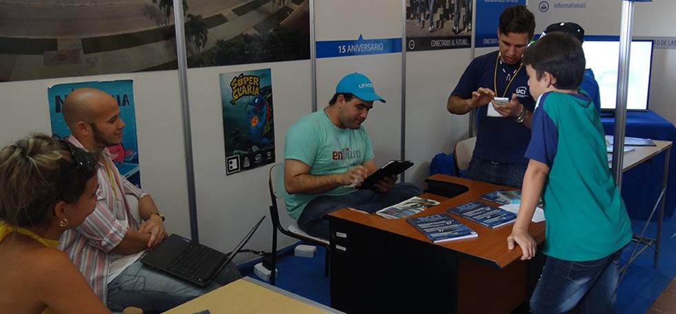 La UCI presente en la 26 Feria Internacional del Libro de La Habana