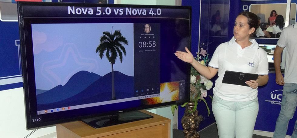 Lanzamiento de Nova 5.0