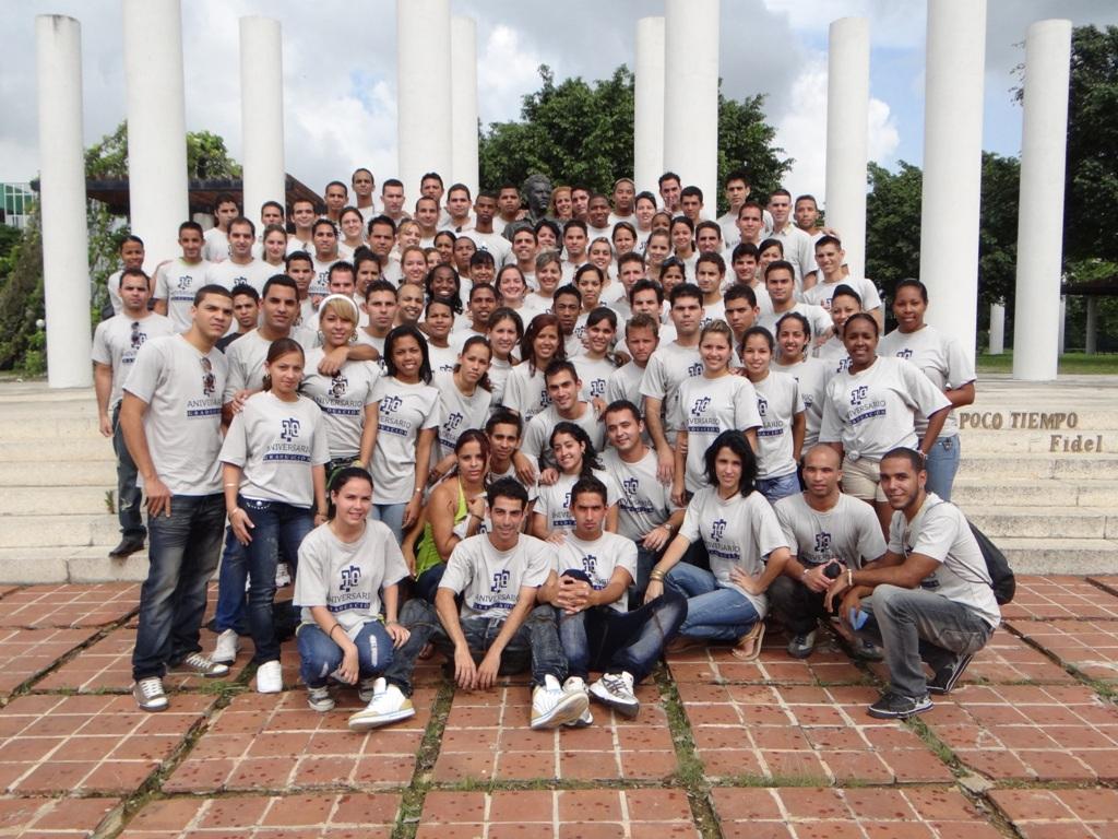 Graduados de Ingenieros de Ciencias Informáticas de la Facultad 4.
