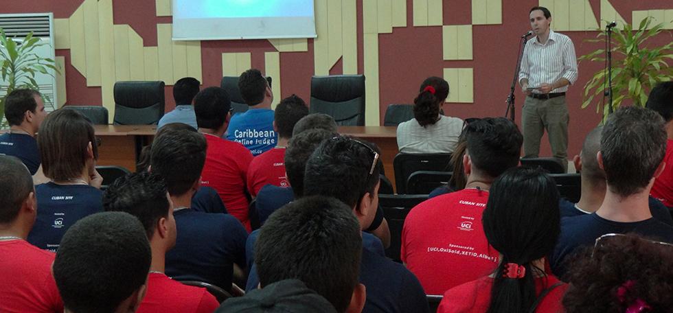 Ofrece la UCI bienvenida a concursantes cubanos de la Final Caribeña 2016 del ACM-ICPC
