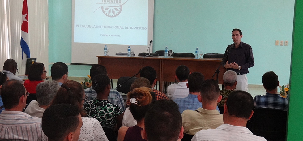 Ofrece la UCI bienvenida a cursantes de VI Escuela Internacional de Invierno