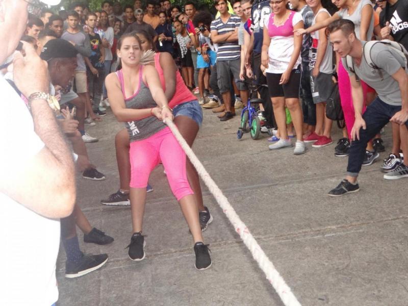 Festival Deportivo en la UCI.