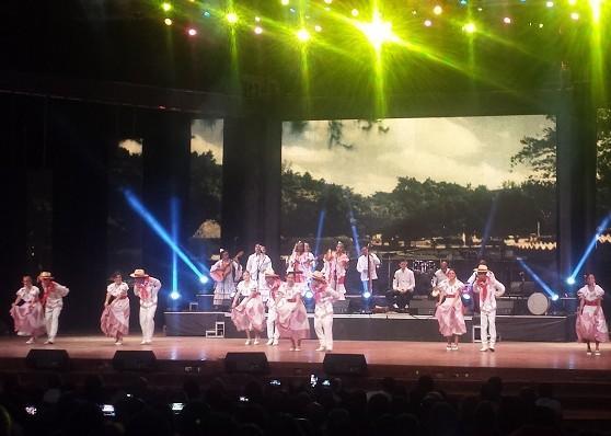 El conjunto artístico Maraguán de Camagüey fue uno de los protagonistas de la gala cultural de Universidad 2018