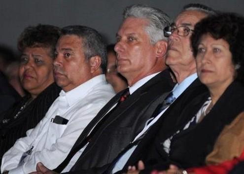 Miguel Díaz-Canel Bermúdez, primer vicepresidente de los Consejos de Estado y de Ministros presidió la inauguración del 11no. Congreso Universidad 2018