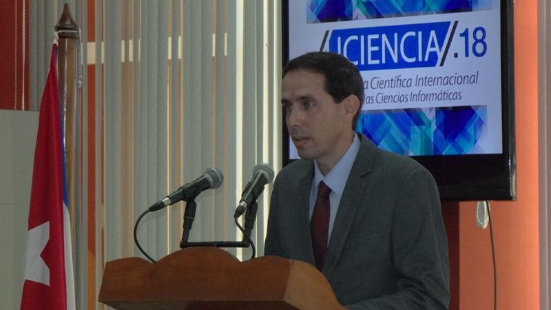 Dr.C. Raydel Montesino Perurena, presidente del Comité Científico de UCIENCIA 2018