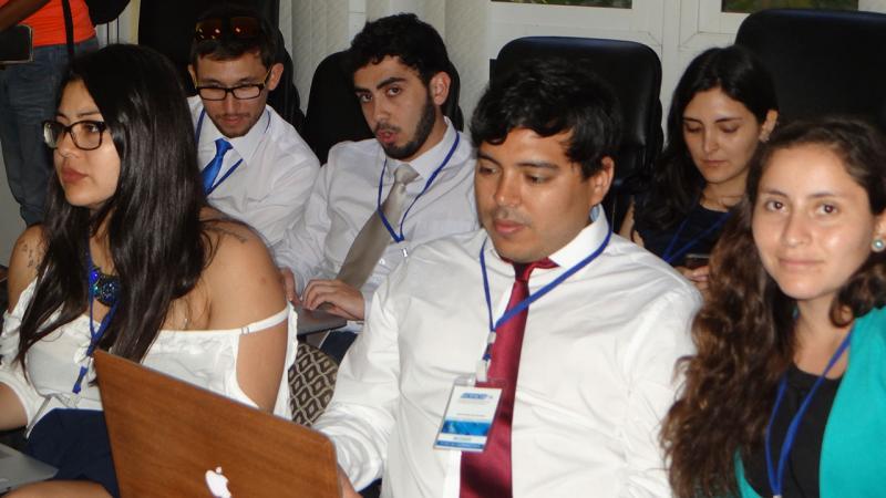 Delegados extranjeros en la conferencia sobre BioCubaFarma.