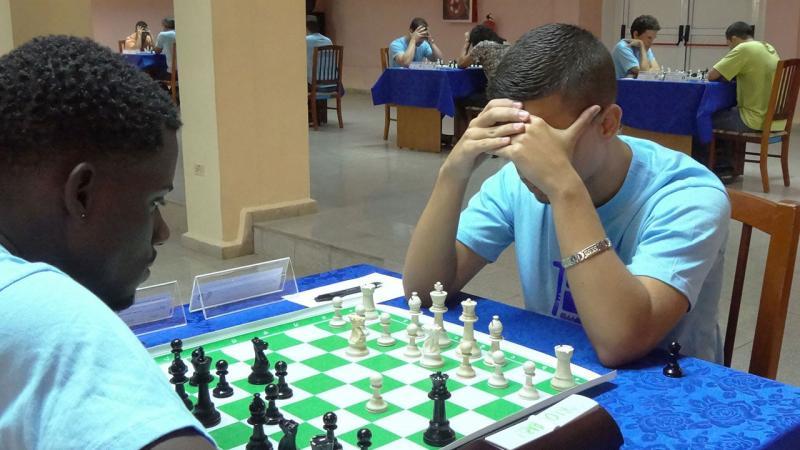 Torneo Universitario de Ajedrez Remberto Fernández. Foto: Alberto Medina Cruz.
