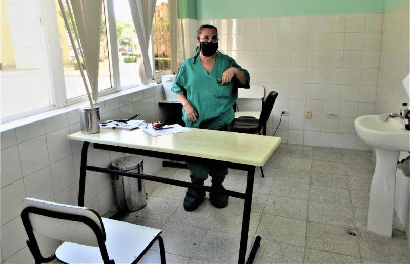 Sala de Respiratorio del Centro Médico de la UCI