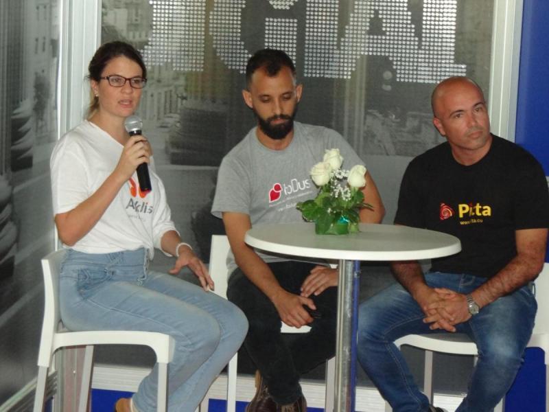 Los líderes de estas aplicaciones desarrolladas por especialistas de la UCI en conjunto con Etecsa abordaron los principales logros obtenidos durante este periodo y significaron las novedades que preparan para los próximos 12 meses.