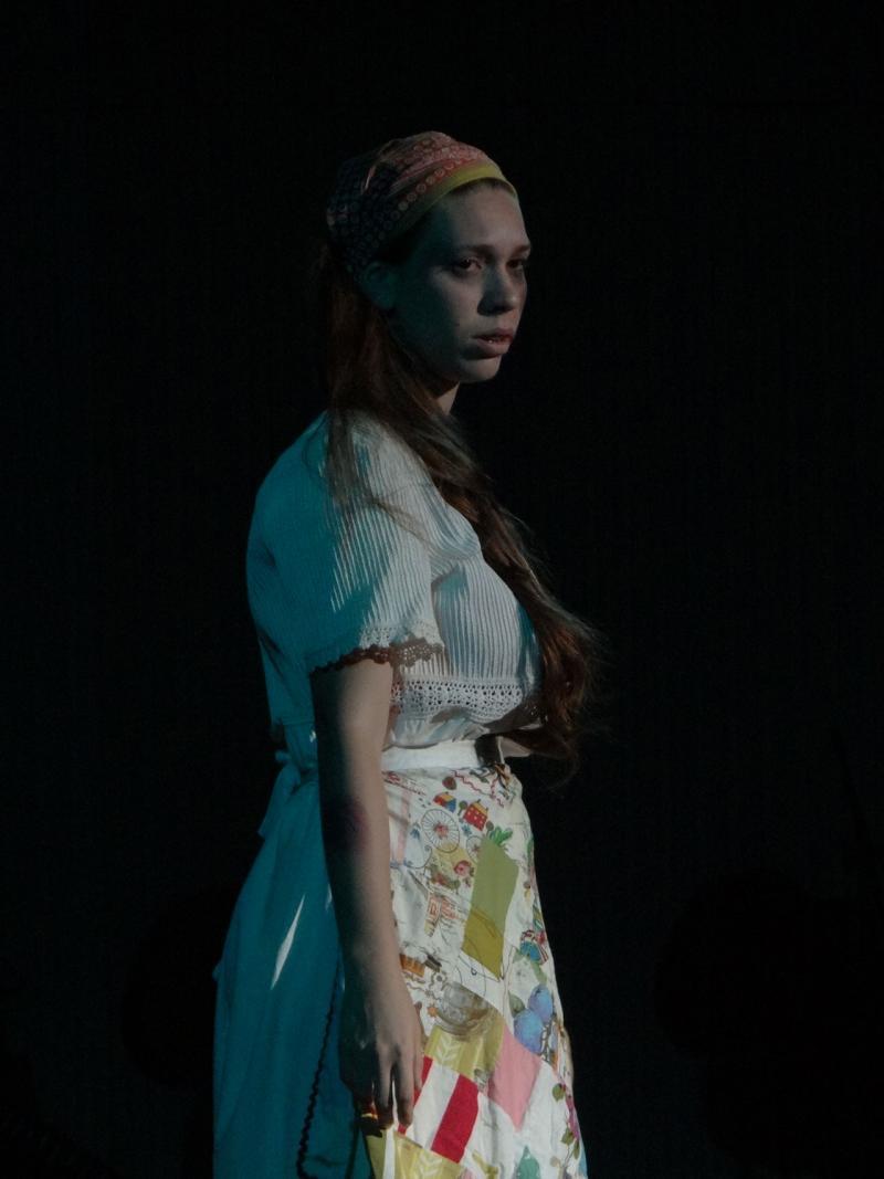 """Stefhani González se alzó con el premio especial en teatro por la obra """"María""""."""
