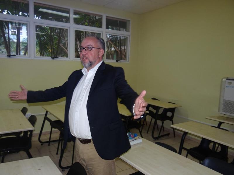 Stephan Goericke, director ejecutivo del Instituto de Internacional de Calidad de Software, mostró satisfacción por el intercambio realizado con directivos de la Universidad de las Ciencias Informáticas.