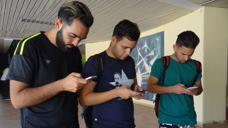 Avispero digital en la UCI Voto #PorCuba.