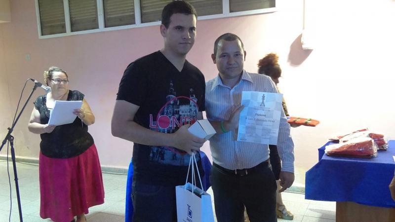 El MI Luis Ernesto Quesada con 7 puntos se situó en lo más alto del premier I.