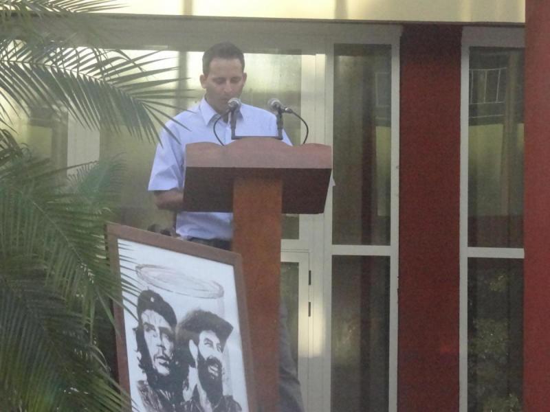 Celebran acto de clausura de la Jornada Camilo-Che en la UCI.