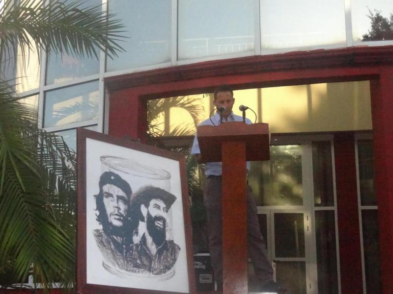 El Dr.C. Geydis Jiménez Moya ofreció las palabras centrales del acto.