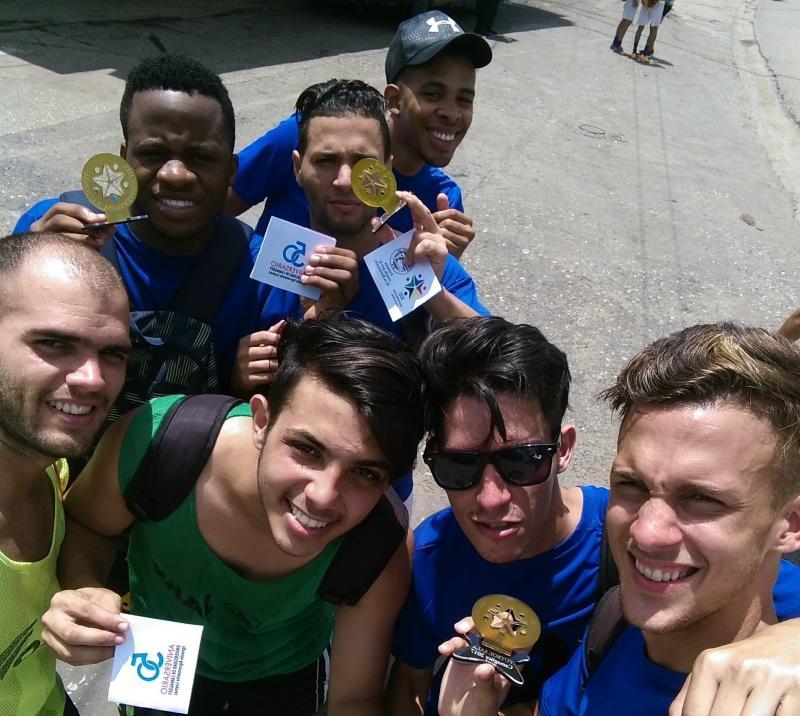 El equipo de futsal masculino de la Universidad de las Ciencias Informáticas se coronó invicto en la decimotercera edición de la fiesta del deporte universitario.